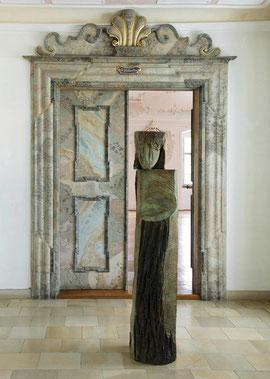Stele Garuge, 2000, Bronze, 6 Ex., 176 x 37 x 46 cm