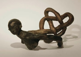 Figur 133, 2006, Bronze, 9 Ex., 11 x 23 x 15,3 cm