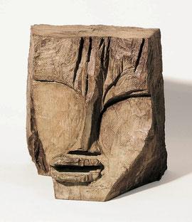 Kopf 86, 1994, Bronze, 8/9 Exemplare, Höhe 19 cm