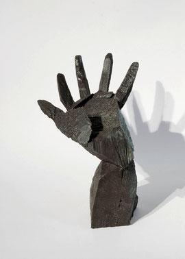 Hand 18, 2005, Bronze,  9 Ex., 22 x 17,5 x 25 cm