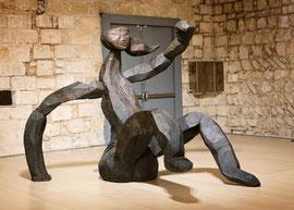 Entwurf für eine große Figur III, 2004, Bronze, 218 x 200 x 314 cm