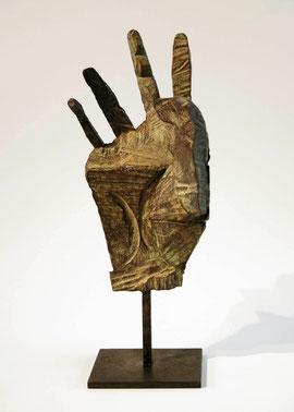 Hand 22, 2005, Bronze, 9 Exemplare, Höhe 31 cm