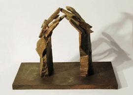 Hand 29/30 (Frühling), 2005, Bronze, 9 Exemplare, 37 x 49,8 x 25,5 cm