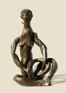Figur 140, 2006, Bronze, 9 Exemplare, Höhe 21,8 cm