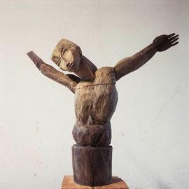 Kruzifix III (dar Croce), 2003, Bronze, 6 Exemplare,  Höhe 121 cm