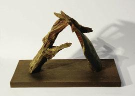 Hand 25/26 (Sommer), 2005, Bronze, 9 Exemplare, 34 x 49,8 x 25,5 cm