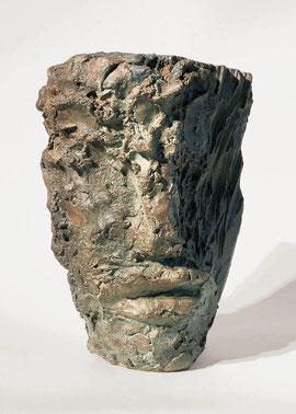 Kopf 130, 2000, Bronze, 3/9 Exemplare, H. 24,5 cm