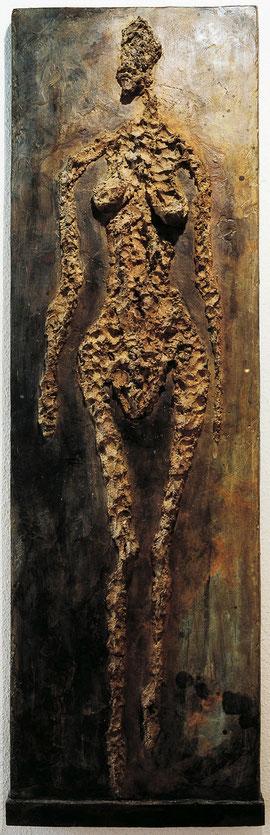 Relief E - Ib, 1998, Bronze, 2/6 Ex., 179 x 54 cm