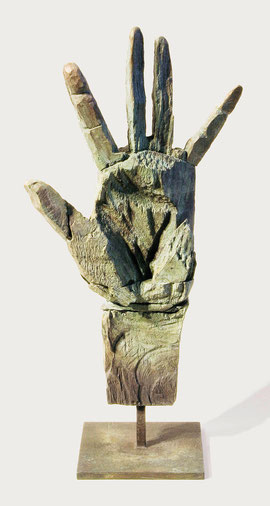 Hand 56, 2007, Bronze, 9 Exemplare, Höhe 38,1 cm