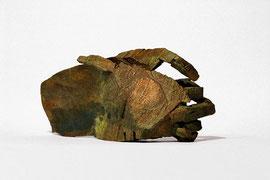 Hand 103 (105), 2010, Bronze, 9 Exemplare, 12,5 x 29 x 14 cm