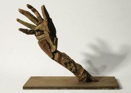 Hand 39, 2005, Bronze, 9 Ex., 33 x 37 x 18,3 cm