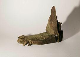 Fuß 2 (Der Schritt), 2005, Bronze, 9 Exemplare, 28 x 33 x 12 cm
