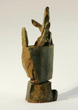 Hand 47, 2005, Bronze, 9 Exemplare, Höhe 26,5 cm
