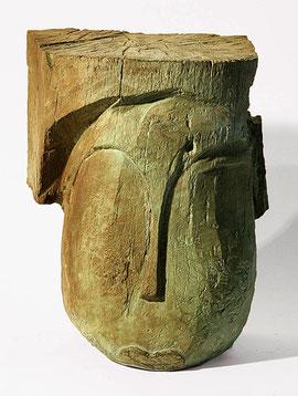 Kopf 201, 2006, Bronze, 9 Exemplare, H. 22,5 cm