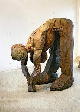 In Topia, 2010, Bronze, 6 Ex., 188 x 110 x 195 cm