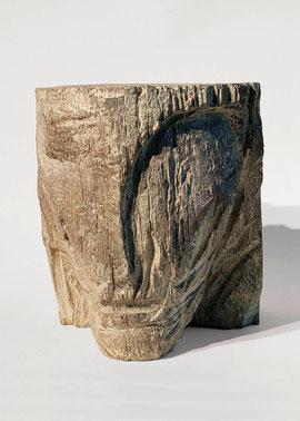 Kopf 117, 1999, Bronze, 4/9 Exemplare, Höhe 21 cm