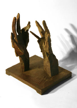 Hand 42/43, 2005, Bronze, 9 Ex., 32,5 x 27 x 21,5 cm