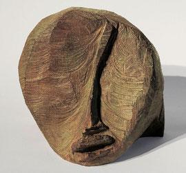 Kopf 91, 1994, Bronze, 10/33 Exemplare, H. 17,5 cm
