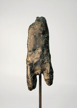 Torso, 1981, Bronze, 8 Exemplare, Höhe 41,5 cm