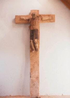 Kruzifix, 2003, Bronze, 3 Exemplare, Höhe 431,8 cm