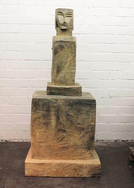 Große Herren haben lange Arme, 1996, Bronze, 1/6 Exemplare, Höhe 180 cm
