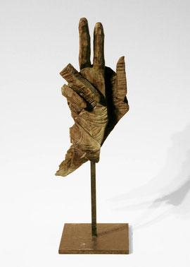 Hand 64, 2007, Bronze, 9 Exemplare, Höhe 36,7 cm