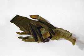 Hand 40/2 - 102(104), 2010, Bronze, 9 Exemplare, 14 x 37,5 x 12 cm