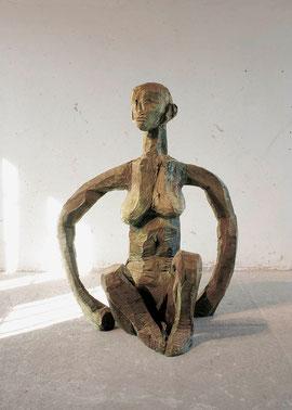 Große Pfanem, 1999, Bronze, 0/6 Ex., Höhe 160 cm