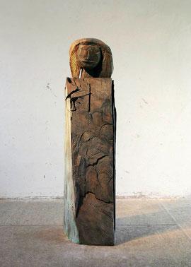 Stele A. F., 2005, Bronze, 6 Exemplare, Höhe 190 cm