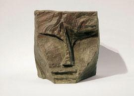Kopf 88, 1994, Bronze, 9/9 Exemplare, Höhe 19 cm
