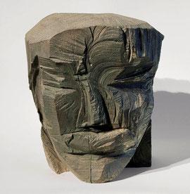 Kopf 166, 2002, Bronze, 9 Exemplare, H. 27,5 cm