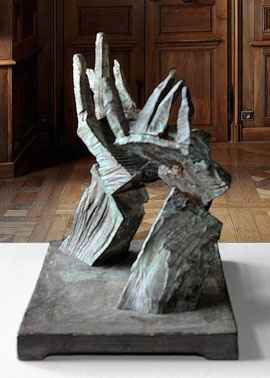 Hand 44/45, 2005, Bronze, 9 Ex., 32 x 29 x 21,5 cm