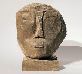 Kopf 33, 1991, Bronze, 7/8 Exemplare, Höhe 25 cm