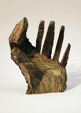 Hand 19, 2005, Bronze, 9 Exemplare, Höhe 20,2 cm