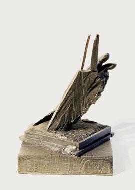 Hand 67-68, 2007, Bronze, 9 Ex., 32,3 x 24 x 25 cm