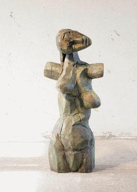 Präpregnantia, 1999/2003, Bronze, 2/6 Exemplare, Höhe 121 cm