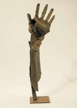Hand 54, 2006, Bronze, 9 Exemplare, Höhe 59,3 cm