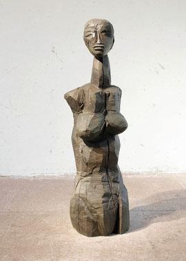 Roes II, 1999/2003, Bronze, 6 Exemplare, H. 157 cm