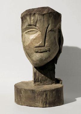 Kopf 111, 1998, Bronze, Höhe 43,5 cm