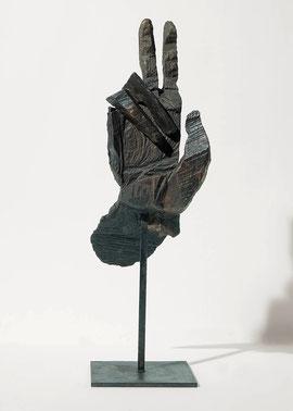 Hand 15, 2004, Bronze, 9 Exemplare, Höhe 30 cm
