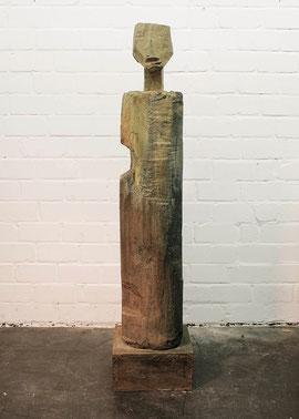 Stele III, 1995, Bronze, 3/6 Exemplare, Höhe 170 cm