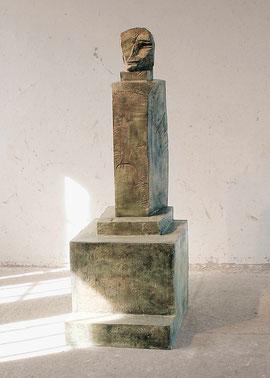 Autokatalyse I, 1990/91, Bronze, 3/6 Exemplare, 300 x 165 x 55 cm