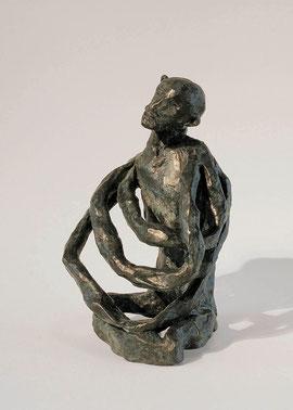 Figur 9, 1998, Bronze, Höhe 20,5 cm