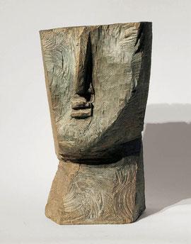 Kopf 63, 1992, Bronze, 18/33 Ex., Höhe 31 cm