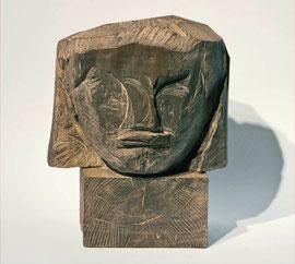 Kopf 161, Bronze, Höhe 35 cm