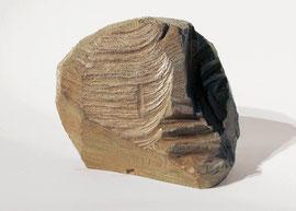 Kopf 73, 1993, Bronze, 4/9 Exemplare, Höhe 16 cm
