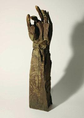 Hand 50, 2005, Bronze, 9 Exemplare, Höhe 46,5 cm