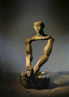 Gordian VII, 2007, Bronze, 6 Ex., 254 x 122 x 148 cm