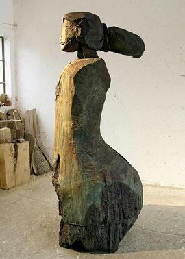 Gordian VIII, 2009, Bronze, 6 Exemplare, 240 x 142 x 106 cm