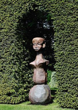 Ohne Titel (168), 2008, Bronze, 165 x 63 x 53 cm
